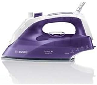 Bosch 2300W SENSIXX QuickFill Steam Iron with Easy Glide Soleplate, Purple - TDS2651GB