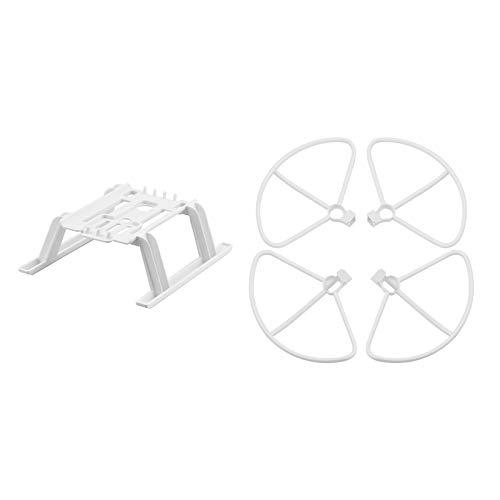 lahomia Hélices Protector de la Hoja de la Cubierta de los apoyos de la extensión del Equipo Protector del Tren de Aterrizaje para los Accesorios del Dron del