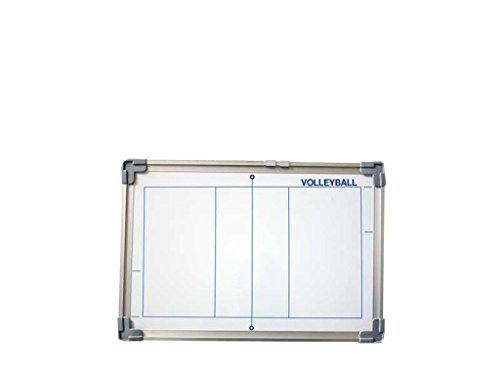 Softee - Pizarra magnetica cerco de aluminio 30x45 cm. Voleibol