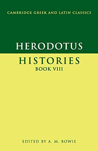 Herodotus: Histories Book VIII (Cambridge Greek and Latin Classics)