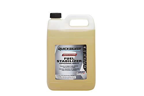 Quicksilver 8M0058683 Quickstor Fuel Treatment and Stabilizer - One Gallon Bottle