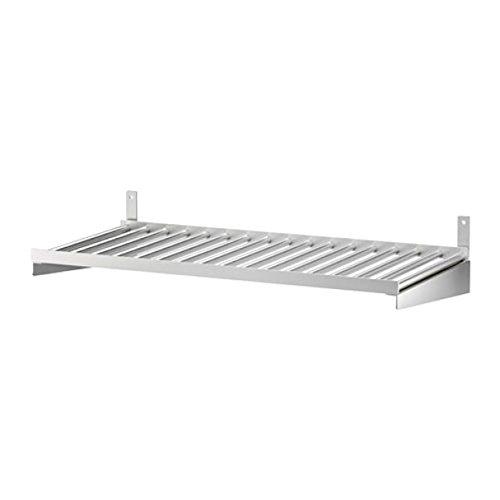 IKEA Kungsfors 503.349.25 - Estante de acero inoxidable