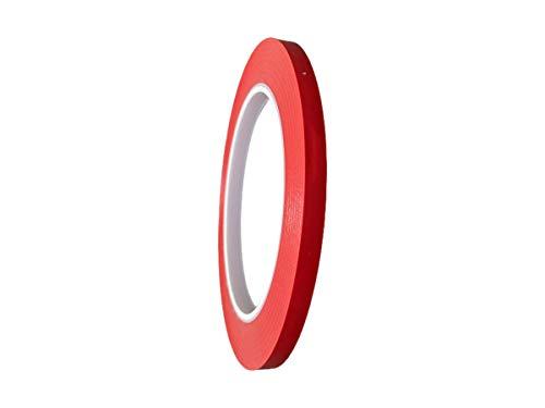 T.R.U. CVT-536 Red Vinyl Pinstriping Dance Floor Tape: 1/4 in. Wide x 36 yds. Several Colors