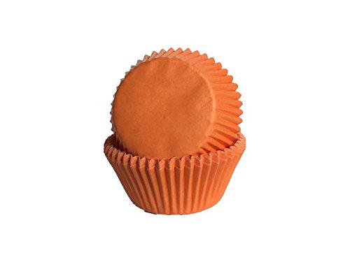 Tasty Cooky Shop Lot de 50 moules à Muffins en Papier pour Cupcakes Orange