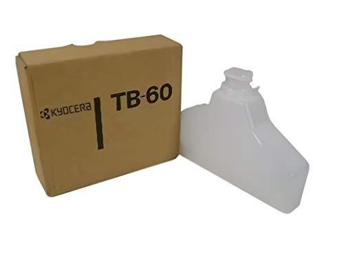 Kyocera 302DH68012 Model TB-60 Waste Toner Bottle; Genuine Compatible with FS-1800, FS-1800+, FS-1800N, FS-1900, FS-1900N, FS-1920, FS-3800, FS-3800N, FS-3820, FS-3820N and FS-3830N Printers