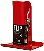 Fastway Flip 88-00-4500 Trailer Tongue Automatic Fold-Up Jack Foot Plate for 2 1/4
