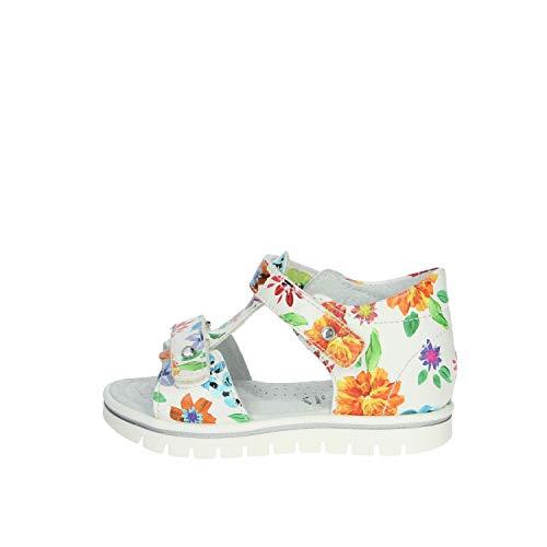 Nero Giardini Sandalo Bambina Bianco E021476f