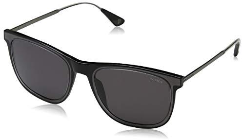 Police Mark 4 Gafas de sol, Negro (Crystal Black/Grey), 54.0 para Hombre