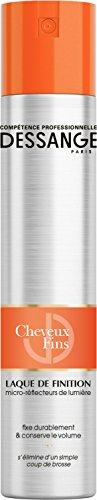 DESSANGE - Laque Coiffante Finition & Brillance Cheveux Fins ou Sans Volume -300 ml