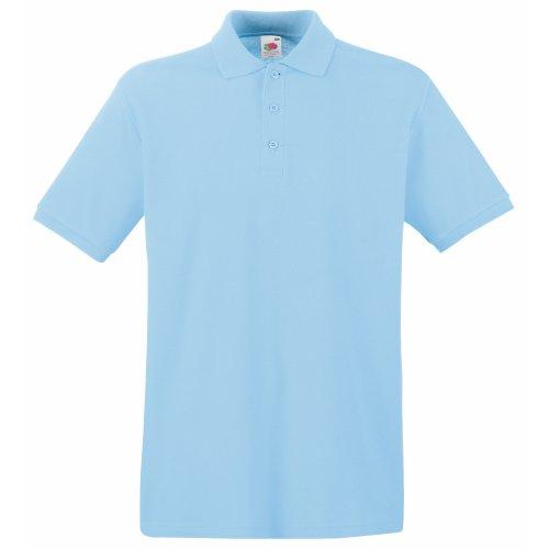 Fruit of the Loom Premium Polo - Farbe: Sky Blue - Größe: S