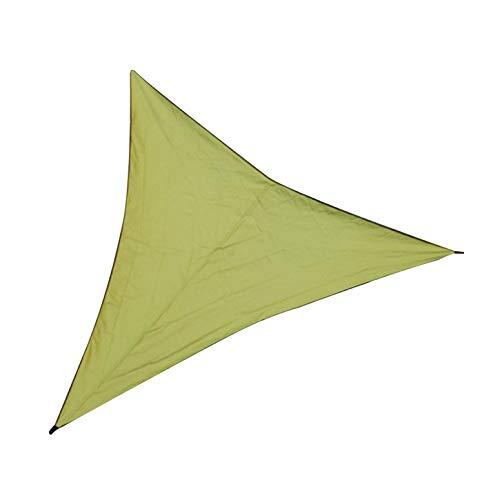ArgoBa Triángulo Refugio de Sol Protección de sombrilla Canopy al Aire Libre Jardín Patio Piscina Sombrilla Vela Toldo Camping Tienda de Picnic
