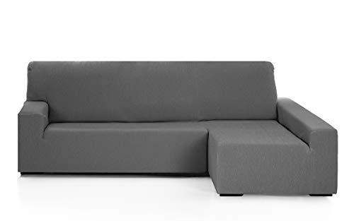 Martina Home Funda para sofa Chaise Longue modelo Emilia - Brazo derecho, color Gris