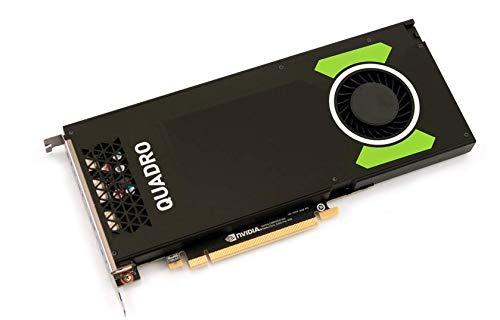 PNY Technologies Nvidia Quadro P4000 – Die leistungsstärkste professionelle Grafikkarte mit einem Steckplatz (VCQP4000-BLK)
