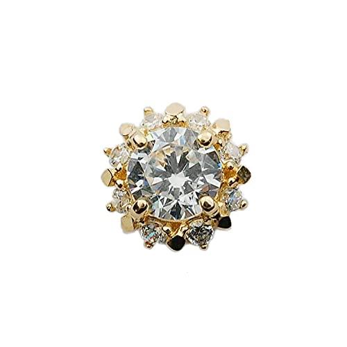 ShSnnwrl Colgante Plata de Ley 925 Simple Diamante Oro Pequeño Sol Colgante Collar Mujeres Luz de Lujo Accesorios de joyería de b