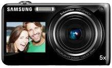 Samsung ST ST600 Kompaktkamera 14.4MP 1/2.33Zoll CCD 4320 x 3240Pixel Schwarz - Digitalkameras (14,4 MP, 4320 x 3240 Pixel, CCD, 5X, HD, Schwarz)