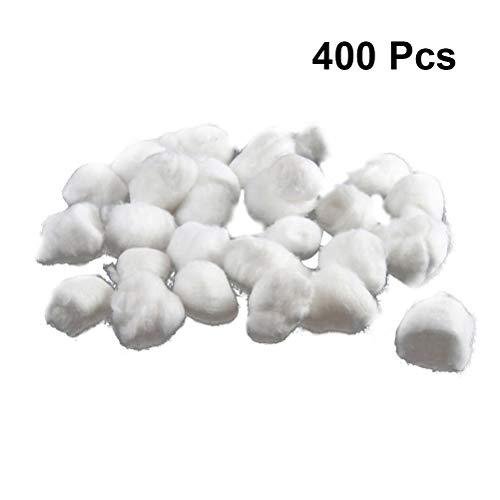 SUPVOX Boule de coton jetables boule de roulement médical absorbent démaquiller nettoyage vernis à ongles coton boules