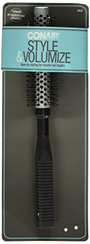 Conair 12 Row Full Round Hot Curling Brush, Colors May Vary