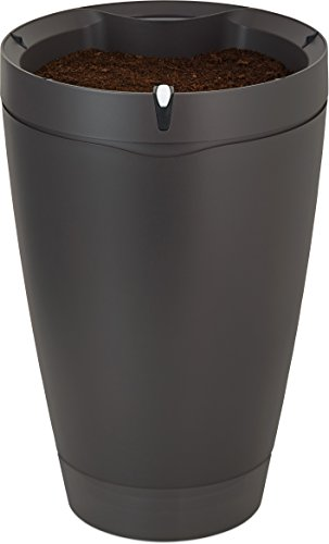 Parrot Pot - Smart, Connected Flower Pot - Black