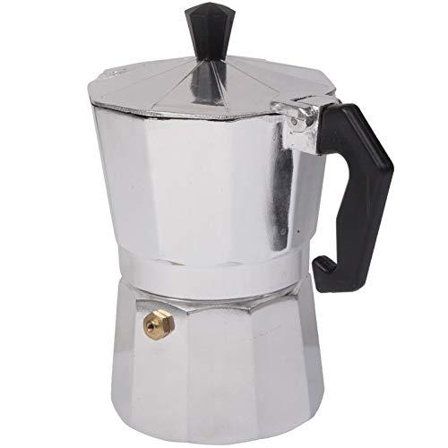 Coffee Pot Portable Aluminum Mocha (Silver) NEWBEER