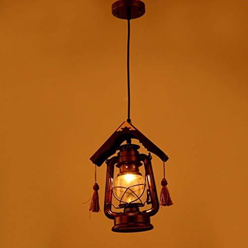 FuweiEncore Das Altertum Pferd der Lichter, Retro chinesischen Kronleuchter Petroleumlampe leuchtet Teehaus in der europäischen Stil verpflichtet den Empfang der Lichter E27 (Farbe : -, Größe : -)
