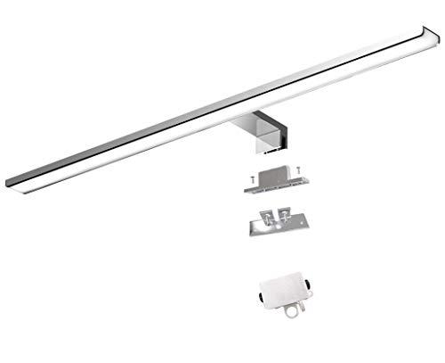 Cywer lichter spiegelleuchten | badezimmerlampen | schralbnklampe | spiegeeleuchtung wand | kosmetiklampe beleuchtung | wandleuchte bad | 56cm | IP44 | neutralweiß | 11W | 700lm