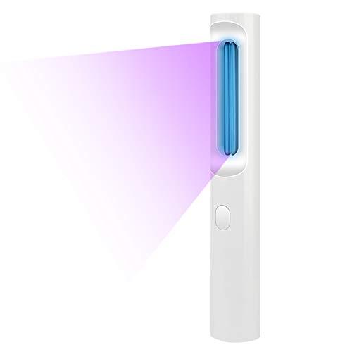 Elover UV Lámpara de Desinfección Luz Ultravioleta Germicida UVC Lámpara Bombilla de Esterilización Portátil USB Cargada para Casa Oficina Hotel