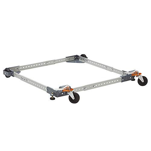 Adjustable Universal Mobile Base Bora Portamate PM-1000. Move Your Heavy Tools and Equipment around Your Shop with Ease and Stability