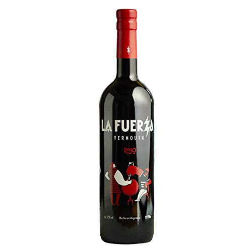 La Fuerza Vermù Rojo - Argentinischer Wermut aus Mendoza, blumig-würziger Aperitif,...