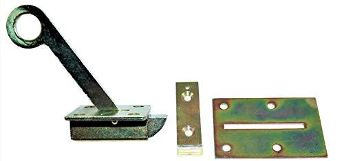 Bodenlukenschnäpper verzinkt , Ausführung : mit langem Hebel, Gesamtlänge : 261 mm