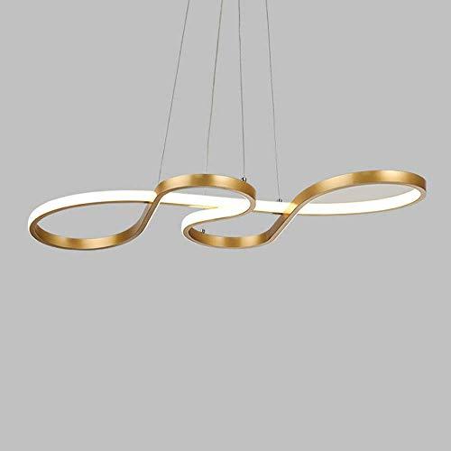 40W LED lámpara moderna regulable con el diseño de control remoto de onda lámpara de...