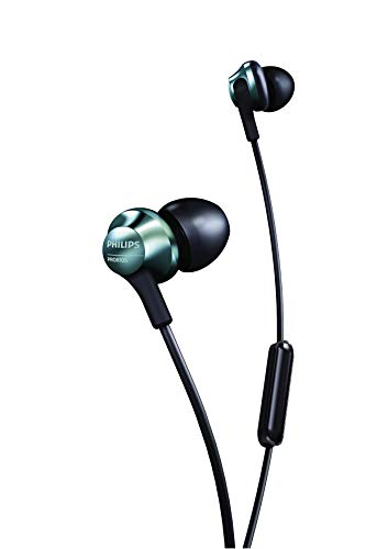 Philips Performance PRO6105 Wired Earphones with Mic, Hi-Res Audio - Black