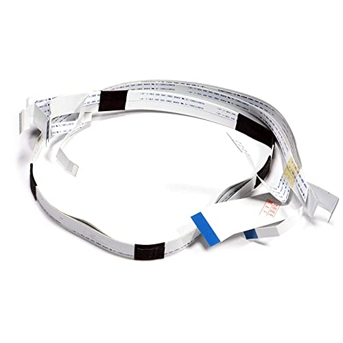 satukeji 1 Unidad de Cable de Cabezal de impresión de Impresora para Epson L800 L801 R290 R295 R330 R280 R285 L805 L810 L850 T50 P50 T59 A50 RX585 RX610 (Color : 1PC)