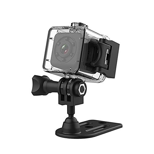 Mini cámara,Funien Mini cámara WiFi Cámara de Seguridad Resistente al Agua Seguridad en el hogar Cámara Web HD Videocámara DVR con visión Nocturna
