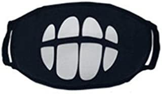 Cool Teeth Luminous Unisex Cotton Blend Anti Dust Face Mouth Mask
