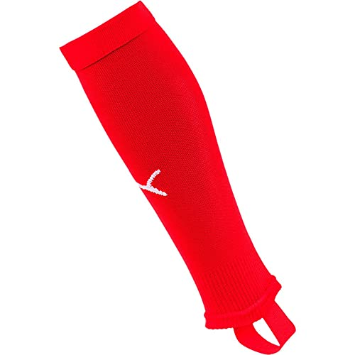PUMA Herren Team LIGA Stirrup Socks CORE Stutzen, Red White, 2