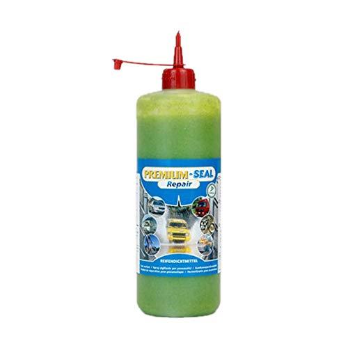 Nachfüllflasche Premium-Seal Repair Set 700ml, Reifendichtmittel für PKW, Camper, Transporter Reifenpannenset Reparatur
