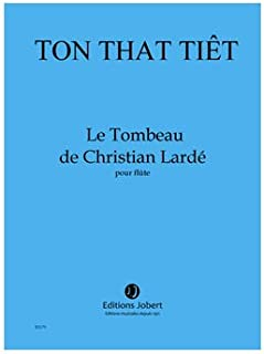 Le Tombeau de Christian Larde --- Flûte