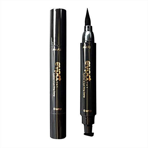 Winged Eyeliner Stamp - Wasserdichtes Make-Up, Wischfest, Langlebiger Flüssiger Eyeliner-Stift, Flügel Im Vamp-Stil,Schwarz,Big01#