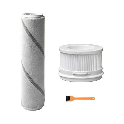 Accesorios para Aspiradora Hepa Filter balanceo Cepillo for Xiaomi Mijia 1C inalámbrico de mano de reemplazo Aspirador rodillos con cepillos Cepillo de limpieza de piezas ( tamaño : Light Yellow )