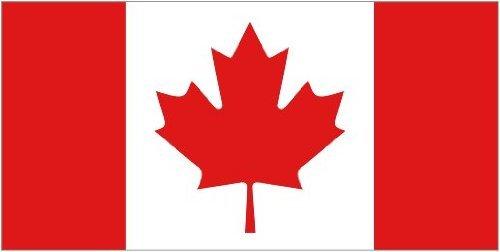 Canada Canadian National 5'x3' Flag by Sent 4 U Ltd