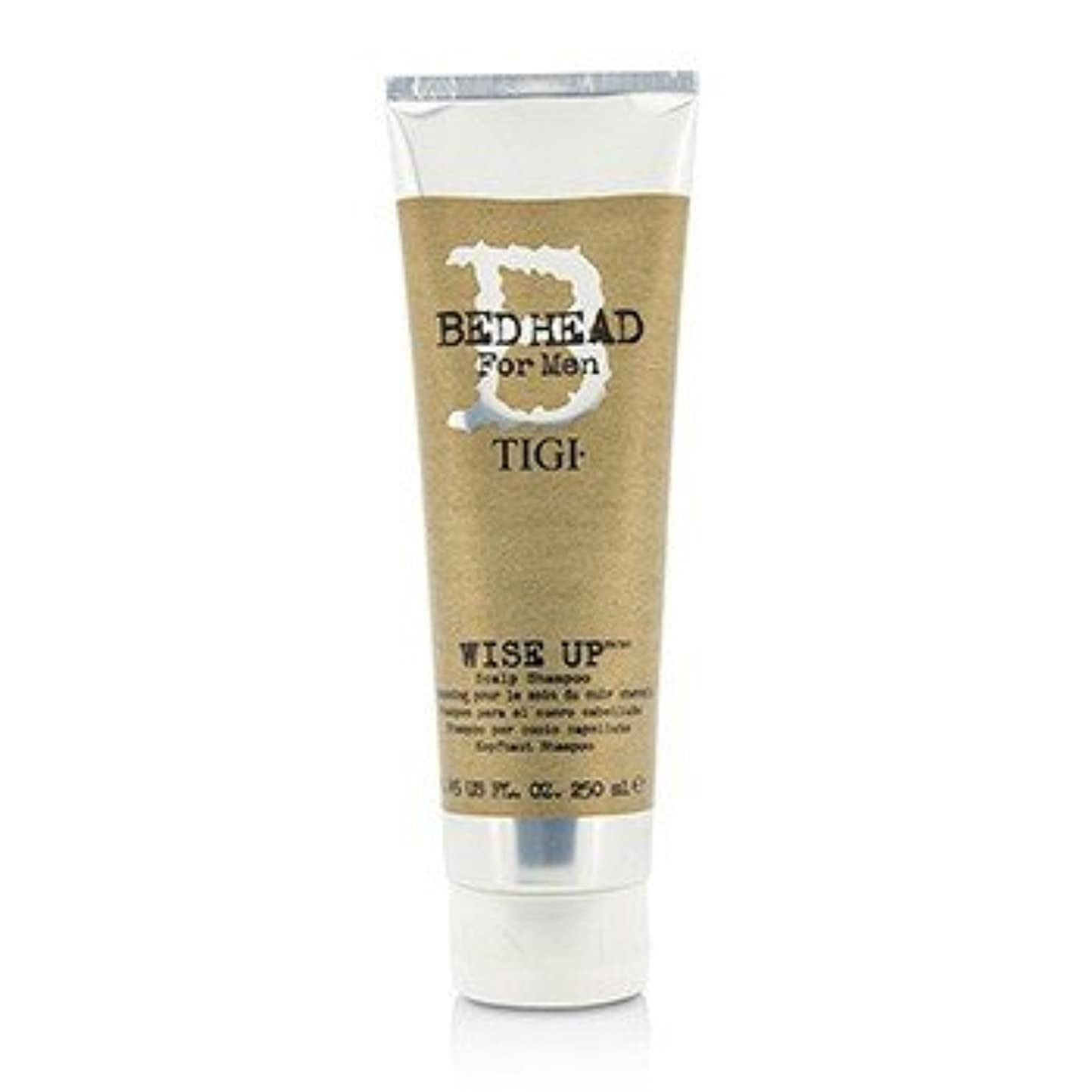 小さい核タウポ湖[Tigi] Bed Head B For Men Wise Up Scalp Shampoo 250ml/8.45oz