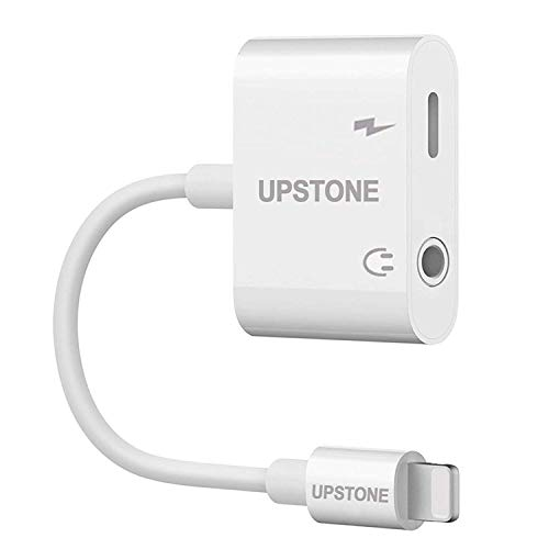 UPSTONE 3.5mm Headphone Adapter Splitter Cables Audio Connector Dongle Support All iOS Systems