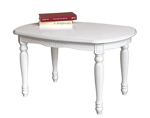 Arteferretto Table Basse Ovale laquée Uni-Style