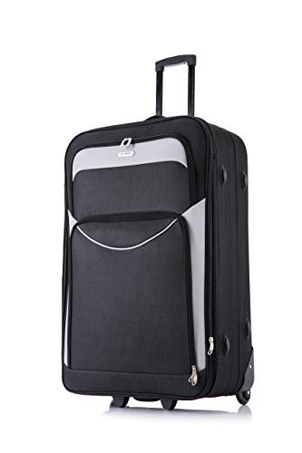 Flymax 29' Large Suitcase Lightweight Luggage Expandable Hold Check in Travel Bag on Wheels