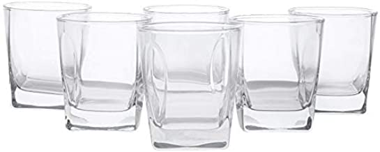 Luminarc Glass Flame O-F Set of 6-Piece, Clear DG6877