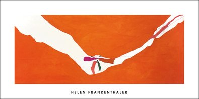 Helen Frankenthaler Chairman of The Board, Poster Kunstdruck Siebdruck Bild 50x100cm