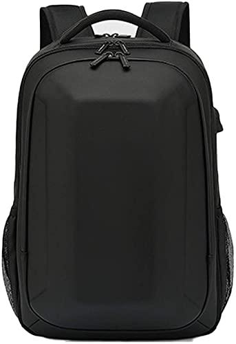 WXFCAS Mochila de viaje, bolso de mochila de negocios de portátil con USB Puerto de carga El mochila de la escuela resistente al agua tiene hasta 15.6 pulgadas de negocios universitarios de negocios v