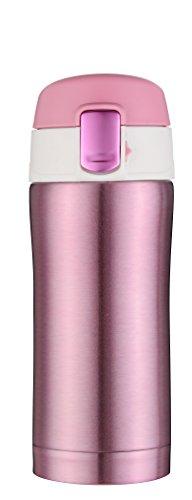 Kooyi isotherme en acier inoxydable Mug de voyage Tasse à Café 250ML, sans BPA (rose)