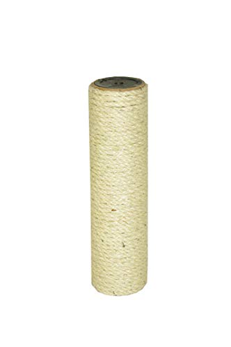 nanook Poteau en sisal de Rechange pour Arbre à Chat Ø 8,5 cm en Tailles diverses - 2 filetages Femelles 10mm - Longueur 35 cm