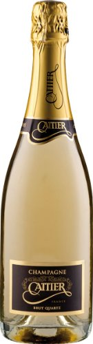 Champagne Cattier Brut Quartz, 1er Pack (1 x 750 ml)